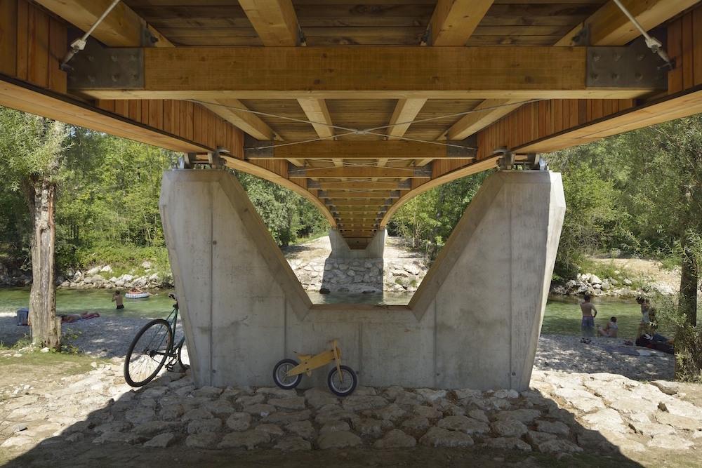 dans arhitekti  most bohinj