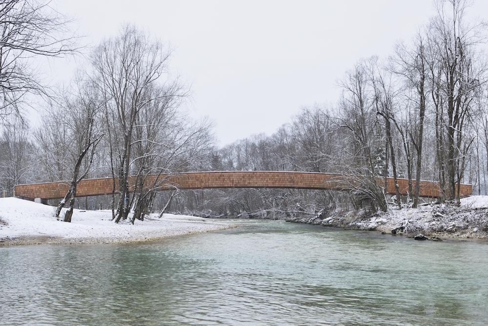 dans arhitekti  most bohinjska bistrica slo