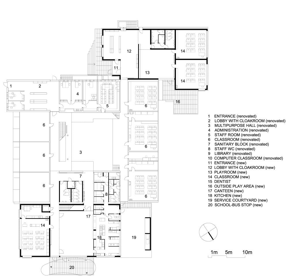 02Sentvid_FloorPlanLegend A1_P