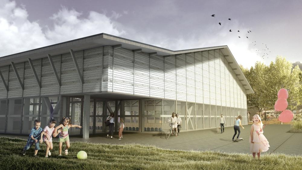 Sports Hall Vižmarje Brod